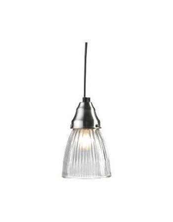 Подвесной светильник MarkSLojd ASNEN 104332104332104332 Подвес, ASNEN, стальной-прозрачное стекло, E27 1*40W
