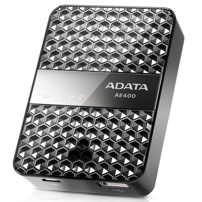 ADATA AE400 беспроводной SD картридер со встроенным зарядным устройством