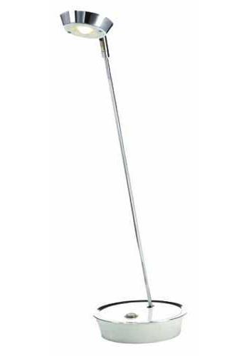 Настольный светильник MarkSLojd GLAVA 102509102509102509 Настольная лампа, GLAVA, белый+хром, LED 1*3WW