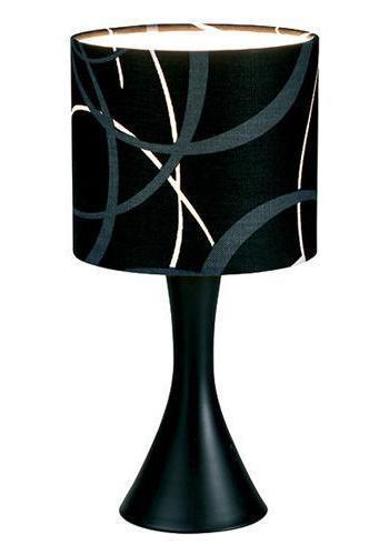 Настольный светильник MarkSLojd RINGS 137723-664323137723-664323137723-664323 Настольная лампа, RINGS, черный, керамика, E14 1*40WW