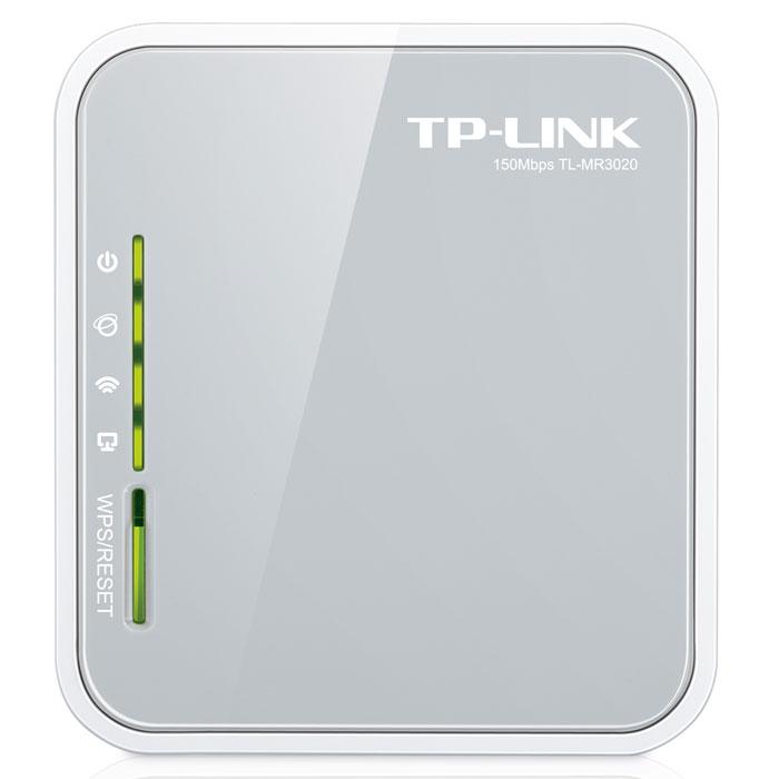 TP-Link TL-MR3020 беспроводной маршрутизаторTL-MR3020Портативный беспроводной 3G/4G-маршрутизатор TP-Link TL-MR3020. Питаемый от ноутбука или от сетевого адаптера, этот маршрутизатор позволит пользователям с легкостью совместно использовать мобильное подключение 3G/4G с семьей или друзьями в поезде, на кемпинге, в отеле, практически повсеместно в пределах зоны доступа 3G/4G. Портативный дизайн и порт Mini USB: Данный маршрутизатор отличается компактным размером, идеальным для использования в путешествиях, и портом Mini USB, с помощью которого для подачи питания можно подключать ноутбук или адаптер питания. Пока у вас есть ноутбук, TL-MR3020 может получать питание и создавать беспроводную сеть, к которой могут подключаться iPad, iTouch, телефоны на базе Android, Kindles и большинство других портативных устройств с поддержкой подключения по Wi-Fi. Высокая совместимость: Совместимость - это наиболее важный аспект, который следует принять во внимание при выборе 3G маршрутизатора. Чтобы...