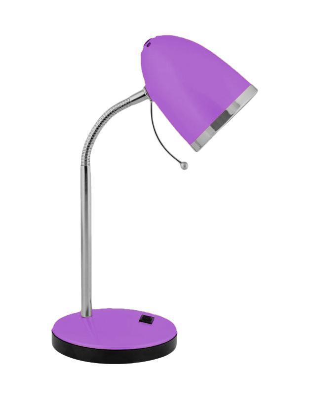 Настольный светильник Camelion KD-308 (C12), Violet 11481