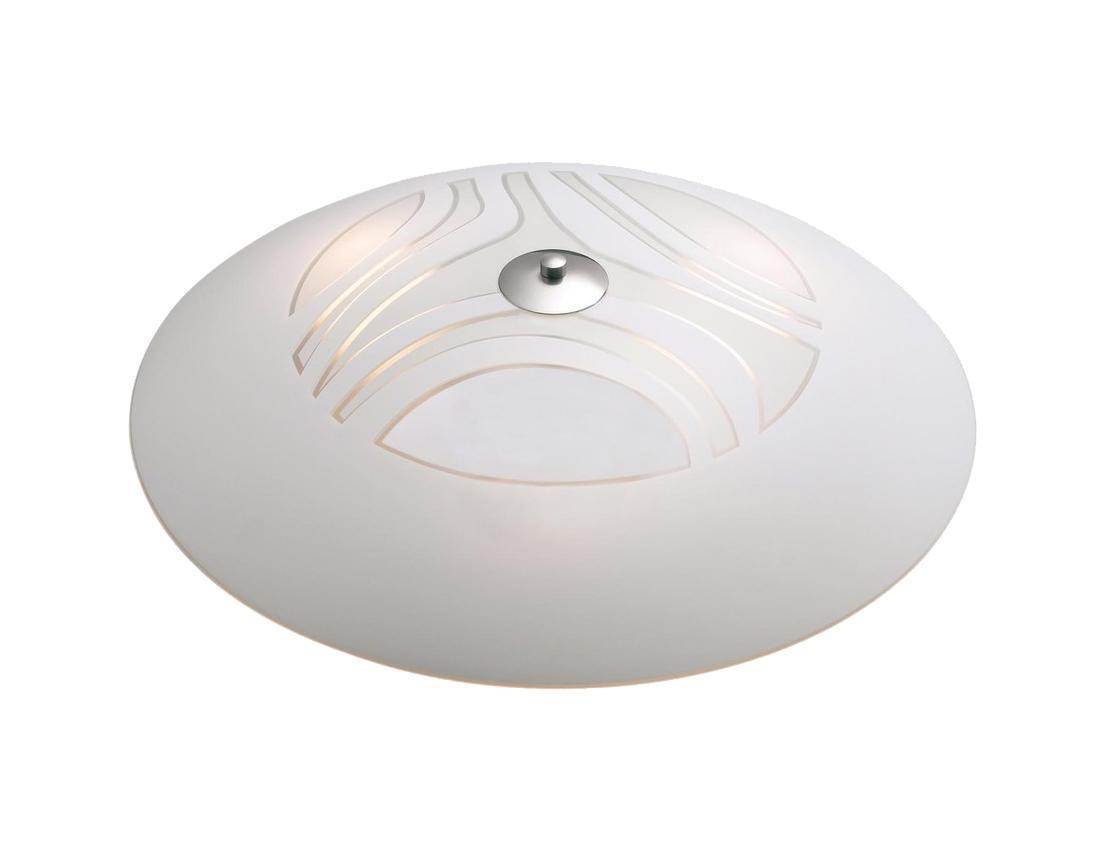 Настенно-потолочный светильник MarkSLojd CLEO 148544-492512148544-492512148544-492512 Светильник настенно-потолочный, CLEO, хром-матовое стекло, E27 3*60WW