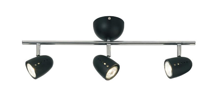 Настенно-потолочный светильник MarkSLojd TOBO 413323413323413323 Светильник настенно-потолочный, TOBO, черный+хром, GU10 3*50WW