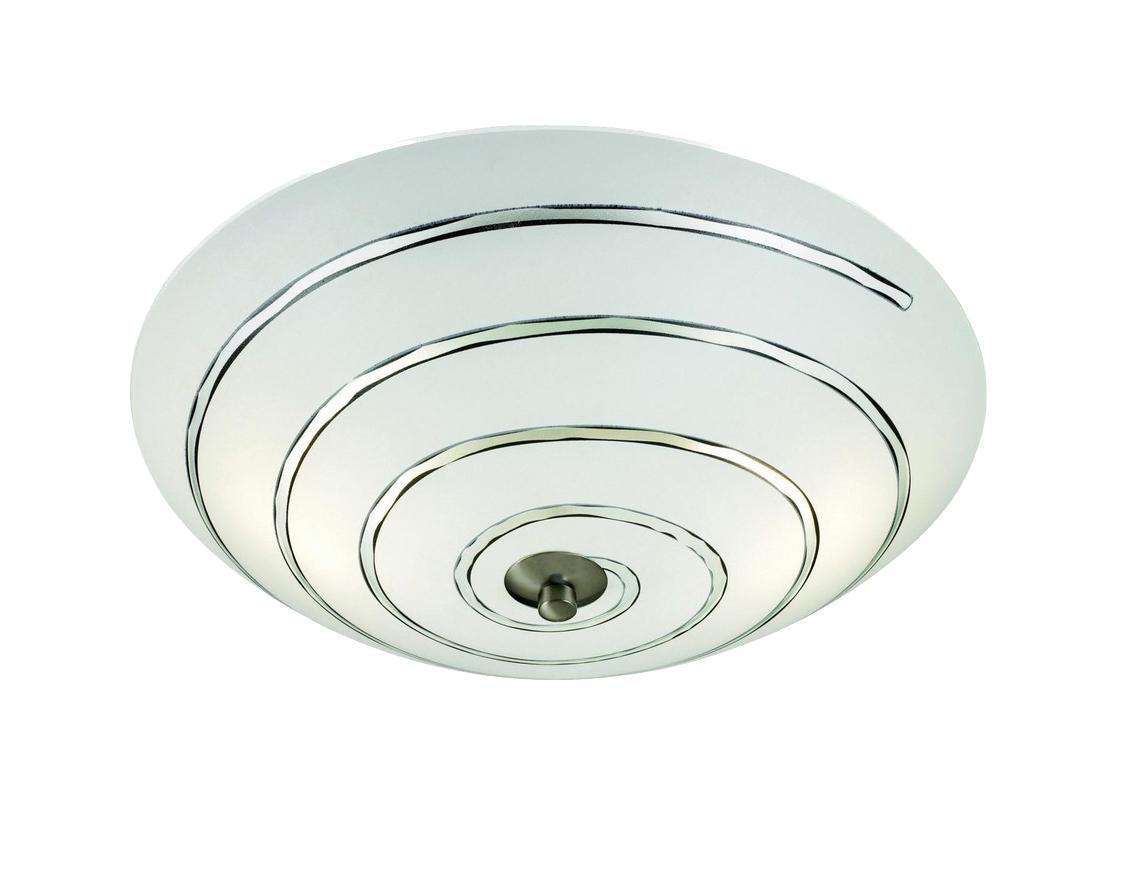 Настенно-потолочный светильник MarkSLojd VISBY 102095102095102095 Светильник настенно-потолочный, VISBY, матовое стекло-сталь, E14 2*40WW