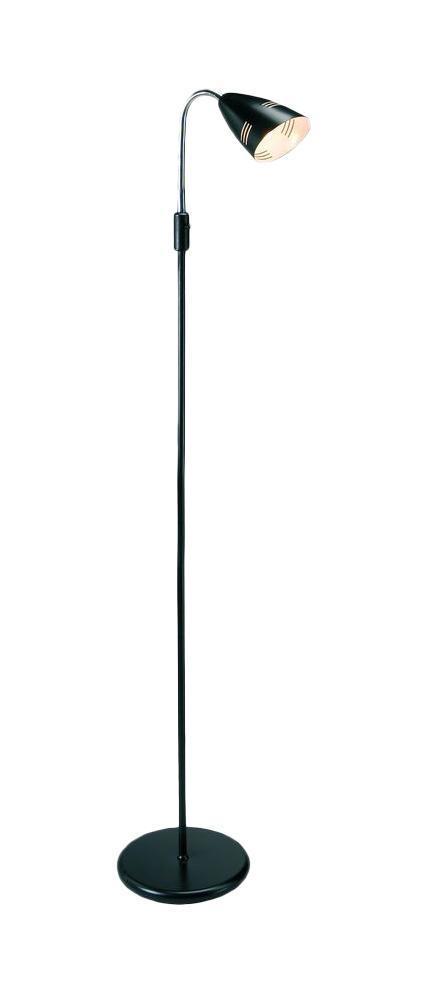 Напольный светильник MarkSLojd VEJLE 197223197223197223 Торшер, VEJLE, черный, E14 1*40WW
