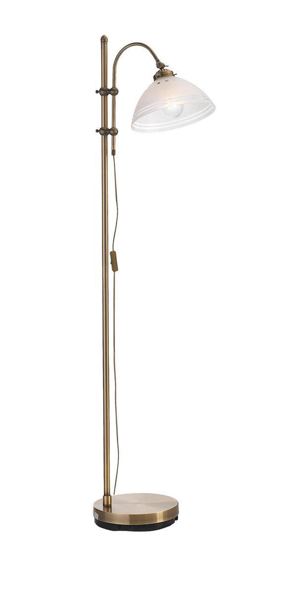 Напольный светильник MarkSLojd STAVANGER 102417102417102417 Торшер, STAVANGER, бронза-матовое стекло, E27 1*60WW