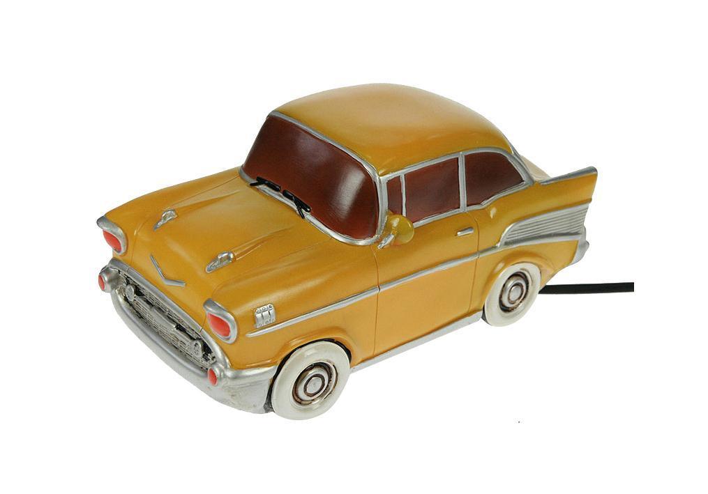 Декоративный светильник Win Max Ent. Ретро авто 25*13*13 см.27066Светильник Ретро авто 25*13*13 см Материал: полистоун, эл. металла; цвет: жёлтый; размеры: 25*13*13