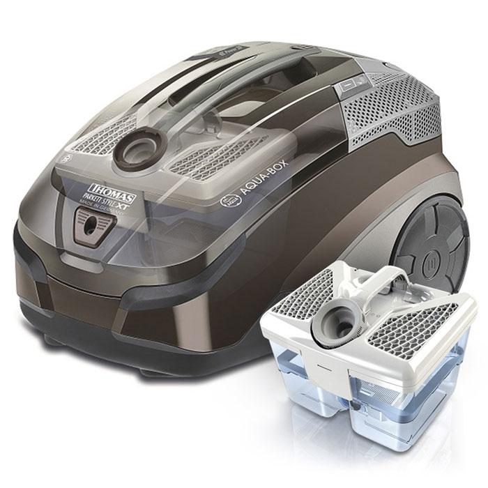Thomas Parkett Style XT 788571Parkett Style XT (788571)Thomas 788571 Parkett Style XT пылесосит и моет за одно движение - подойдет для любых квартирных покрытий, включая даже паркет и ламинат, а также для чистки ковров на всю длину ворса. Качество очистки такое высокое, что обычная уборка эффективна, как генеральная. Вместо «пылесосного» запаха весенняя свежесть.