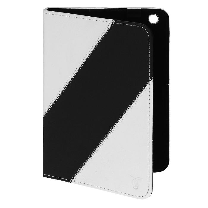 Vivacase Fantasy универсальный кожаный чехол-обложка для Pocketbook и iPad mini 7,85, White Black (VUC-F002-Wh-Bl)VUC-F002-Wh-BlУниверсальный чехол-обложка из искусственной кожи Viva Fantasy для iPad mini и Pocketbook надёжно защищает гаджет от пыли и царапин. Данный чехол выполнен в различных цветовых решениях. Крепления-уголки надежно фиксируют устройство в чехле, а мягкая внутренняя поверхность обеспечивает деликатный уход за экраном. Viva Fantasy для Pocketbook и iPad mini имеет возможность устанавливать планшет в двух положениях для просмотра видео или удобного набора текста.