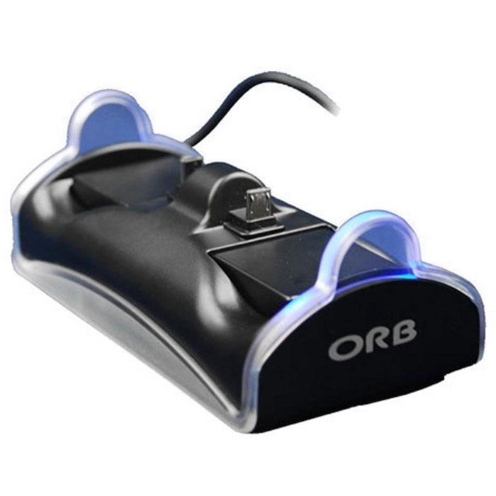 Зарядная станция ORB на 2 геймпада для PS4 (020809)020809Зарядная станция ORB на 2 геймпада для Playstation 4.