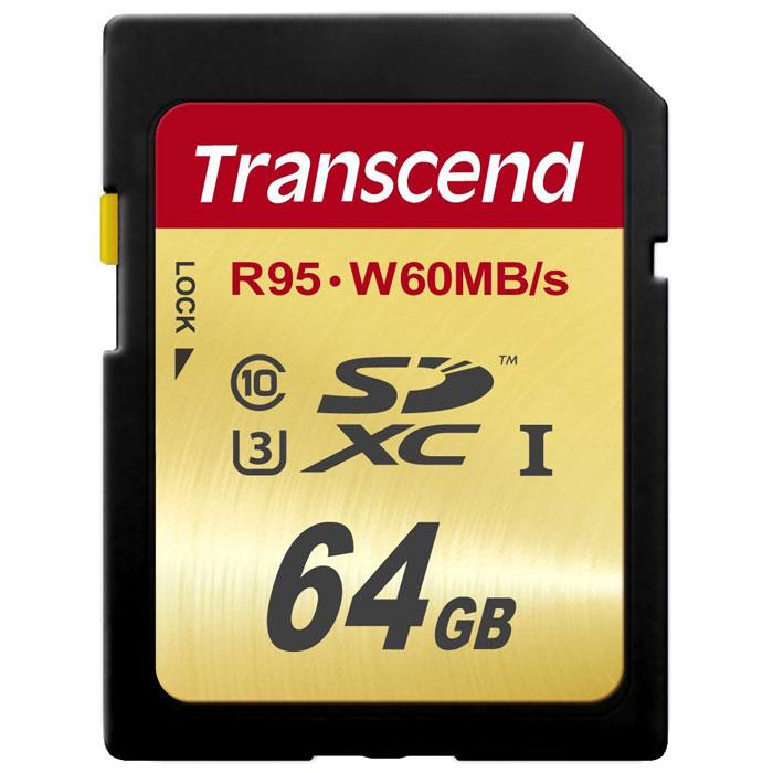 Transcend SDXC Class 10 UHS-I U3 64GB карта памятиTS64GSDU3Карты памяти Transcend SDXC UHS-I Speed Class 3 (U3) способны с легкостью справиться с потоками данных, генерируемыми цифровыми камерами, совместимыми со стандартом UHS-I. Благодаря рекордным скоростям чтения и записи, которые достигают 95 и 60 МБ/с, соответственно, они позволяют записывать видео сверхвысокого разрешения 4K и существенно сэкономить время, требуемое на переписывание видео на компьютер. Встроенная технология ECC позволяет обнаруживать и исправлять ошибки при передаче данных. Эксклюзивная программа RecoveRx обеспечивает надежное восстановление удаленных и утраченных данных с портативных носителей. Внимание: перед оформлением заказа, убедитесь в поддержке Вашим электронным устройством карт памяти данного объема.
