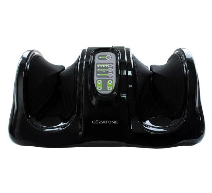 Gezatone Массажер блаженство для ног Massage magic AMG7111301136Массажер для профессионального воздействия на стопы и голени сочетает в себе техники восстанавливающего массажа Шиацу с интенсивным роликовым массажем. Быстро снимает усталость, улучшает самочувствие. Благодаря массажу Шиацу снимается напряжение в мышцах и суставах, восстанавливается нормальное кровоснабжение, стимулируется вывод застоявшейся жидкости. Воздействие роликами на активные точки стопы производит эффект рефлексотерапии, открывает энергетические каналы, способствует восстановлению общей работоспособности и снимает дискомфорт и усталость ног. Особенности: Прибор обеспечивает одновременный массаж активных точек на обеих ступнях, что дает в 3-5 раз более выраженный эффект, чем массаж каждой стопы по отдельности. Массажер ориентирован на индивидуальное использование: он буквально подстраивается под особенности строения стопы каждого человека. Вы получаете отличный профессиональный массаж и рефлексотерапию, как у лучших восточных ...