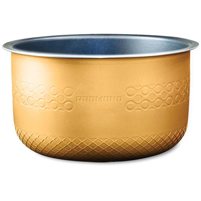 Redmond RB-A503 чаша для мультиваркиRB-A503Redmond RB-A503 - 5-литровая чаша с высококачественным антипригарным покрытием от компании DAIKIN (Япония) отлично подойдет для жарки, выпечки, варки молочных каш. Можно использовать чашу вне мультиварки в качестве посуды для хранения продуктов в холодильнике или для приготовления блюд в духовом шкафу.