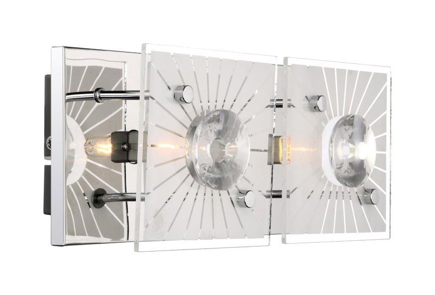 48691-2 Настенно-потолочный светильник IOLANA48691-2Бра Globo 48691-2 Iolana идеально подойдет для интерьеров в стиле модерн. Подойдет для освещения гостинной, спальни, кухни