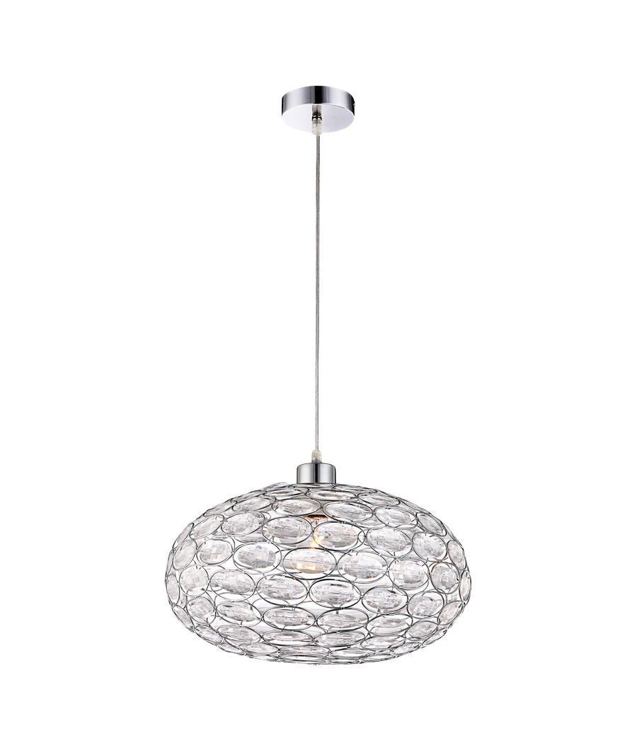16036 Подвес MEGI16036Подвесная декоративная люстра GLOBO 16036 энергосберегающая Globo 16036 Megi Декор в виде прозрачных овальных кристаллов из акрила, основание металл цвета хром. Рекомендовано использование энергосберегающих ламп LED. Материал: Арматура: Металл/Плафон: Пластик Цвет: Арматура: Серебристый/Плафон: Прозрачный Размер: 40х40х120 Материал: Арматура: Металл/Плафон: Пластик Цвет: Арматура: Серебристый/Плафон: Прозрачный Размер: 40х40х120