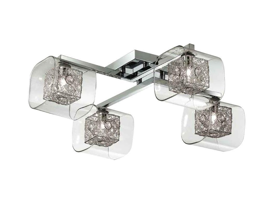 Потолочный светильник ST-LUCE SL602 102 04SL602 102 04От производителя Потолочный светильник ST-Luce отлично впишется в интерьер вашего дома. Он хорошо смотрится как в классическом, так и в современном помещении, на штукатурке, дереве или обоях любой расцветки. Для безопасной и надежной коммутации светильника в сеть на корпусе светильника установлена клеммная колодка. Светильник дает яркий ровный сфокусированный световой поток в выбранном направлении. Светильники и люстры - предметы, без которых мы не представляем себе комфортной жизни. Сегодня функции люстры не ограничиваются освещением помещения. Она также является центральной фигурой интерьера, подчеркивает общий стиль помещения, создает уют и дарит эстетическое удовольствие.
