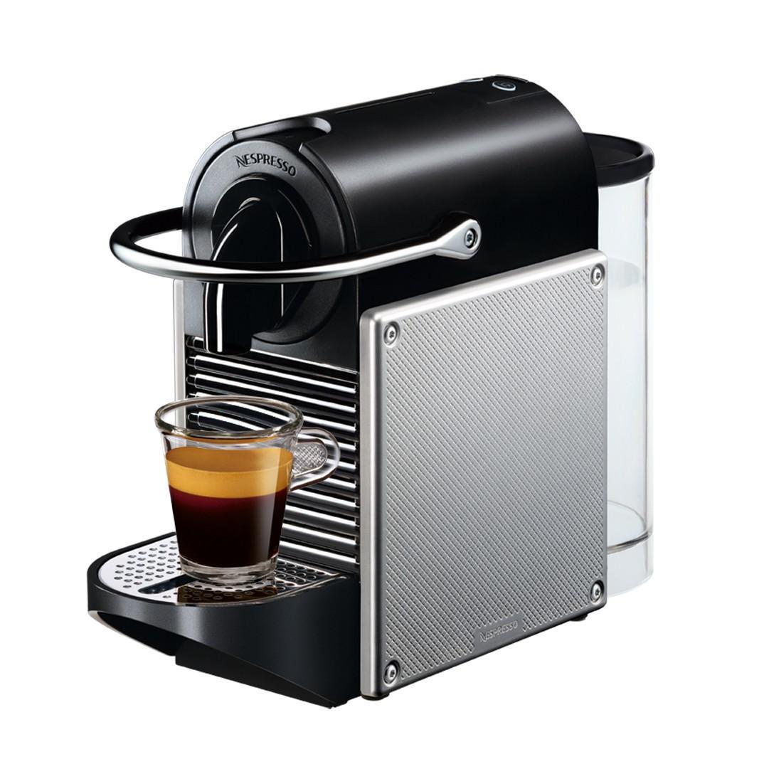 DeLonghi EN 125.S Nespresso Pixie, Light Silver капсульная кофемашина