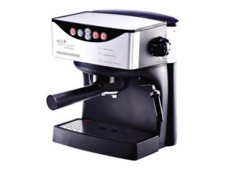 Redmond RCM-1503 КофеваркаRCM-1503Надежная и удобная кофеварка Redmond RCM-1503 с современным, стильным дизайном. Модель оснащена системой электронного управления, что упрощает процесс приготовления горячего ароматного кофе. Также, имеется светодиодная индикация работы, подогреваемая подставка для чашек и отделение для хранения шнура. Допускает 2 режима подогрева и возможность регулирования концентрации кофе. Кофеварка Redmond RCM-1503 функциональна и безопасна. Имеет встроенную защиту от перегрева и функцию автоматического отключения. Светодиодная индикация работы кофеварки Программирование количества воды для кофе Два уровня установки температуры приготовления кофе Отделение для хранения шнура Автоматическое отключение Защита от перегрева Съемная подставка для легкой чистки Индикация включения Подогреваемая подставка для чашек Режим приготовления капучино Режим приготовления эспрессо Цвет: черный + серебристый Емкость...
