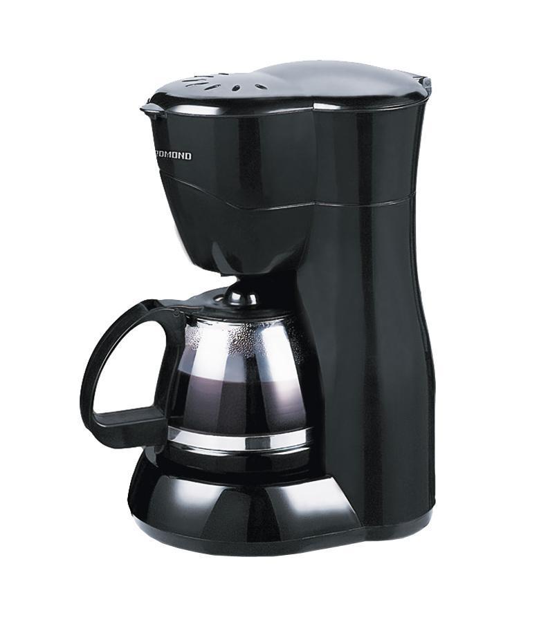 Redmond RCM-1501 кофеваркаRCM-1501Кофеварка REDMOND RCM-1501 прекрасно подойдет для использования как дома, так и в офисе. Ведь в ней можно приготовить кофе на 6–8 чашек в один прием! Благодаря системе «капля-стоп», препятствующей попаданию жидкости на столик с подогревом, вы можете перелить кофе в чашку, не дожидаясь окончания полного цикла приготовления. Вы также можете использовать данный прибор для заваривания чая или травяных отваров.