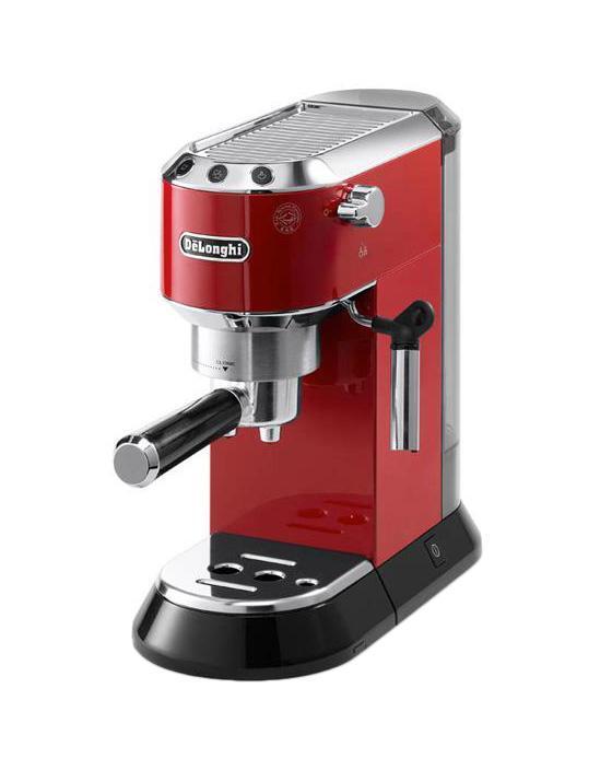 DeLonghi Dedica EC 680, Red рожковая кофеварка