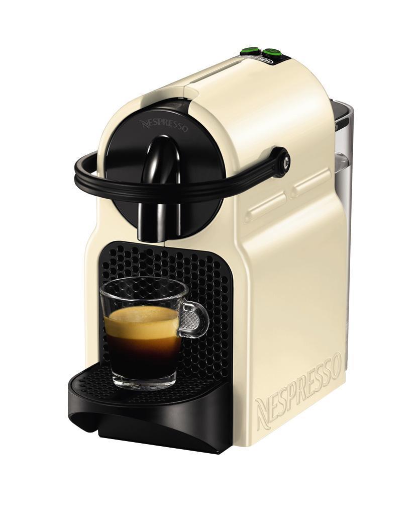 DeLonghi EN 80.CW Nespresso, Beige кофеварка