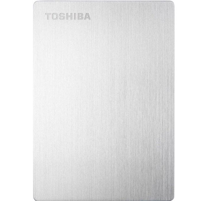 Toshiba Stor.E Slim For Mac 500GB, Silver внешний накопитель (HDTD205ESMDA)HDTD205ESMDAПортативный жесткий диск Toshiba STOR.E SLIM FOR MAC - отличное решение для безопасного хранения и резервного копирования ваших данных. Благодаря своим компактным размерам устройство подходит для использования в качестве переносного накопителя. На диске установлено программное обеспечение NTI Backup Now EZ, предназначенное для автоматического резервного копирования. Передача данных происходит с использованием интерфейса USB 3.0, что делает этот процесс более быстрым. Диск предназначен для использования с компьютерами Mac.