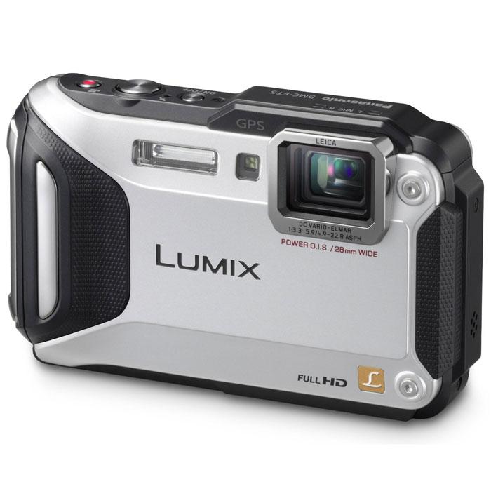 Panasonic Lumix DMC-FT5, Silver (DMC-FT5EE9-S) цифровая фотокамера
