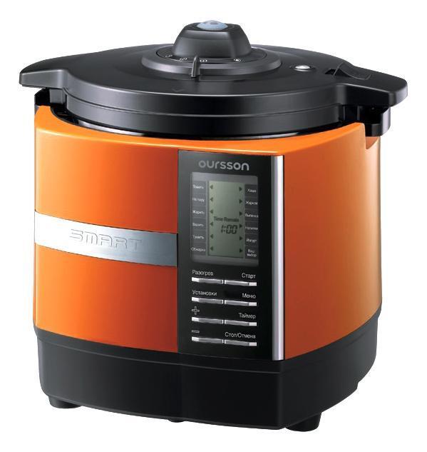 Oursson MP5005PSD/OR, Orange мультиварка-скороваркаMP5005PSD/ORУВАЖАЕМЫЕ КЛИЕНТЫ! Обращаем ваше внимание на тот факт, что объем чаши указан максимальный, с учетом полного наполнения до кромки. Шкала на внутренней стенке имеет меньший литраж.