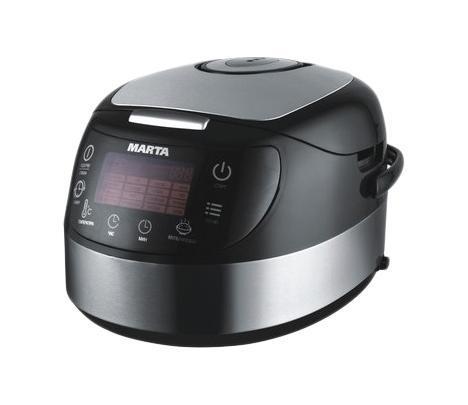 Marta MT-1987, Black Steel мультиварка