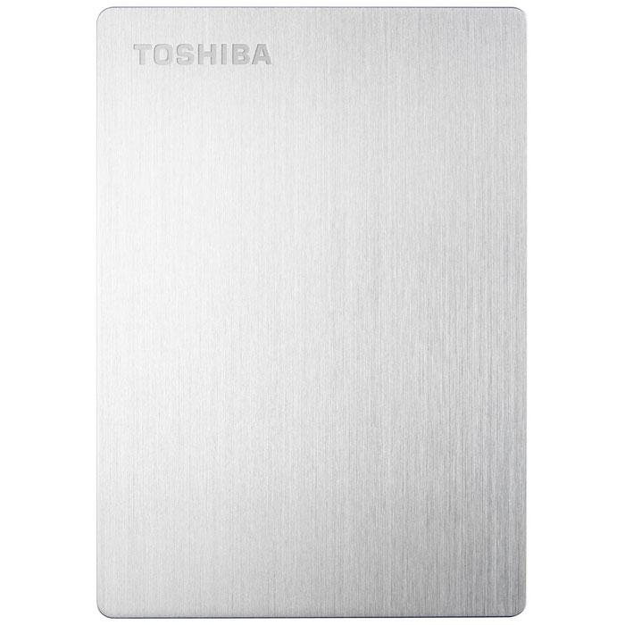 Toshiba Stor.E Slim 1TB, Silver внешний накопитель (HDTD210ES3EA)