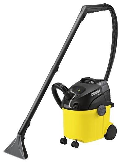 Моющий пылесос Karcher SE 5.100 1.081-200.01.081-200.0Моющий пылесос SE 5.100 предназначен для очистки ковровых покрытий, мягкой мебели, матрасов, текстильной оббивки стен и автомобильных сидений на всю губину волокон. Также может использоваться как пылесос сухой уборки.