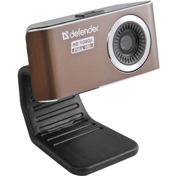 Defender G-lens 2693 веб-камера63693Defender G-lens 2693 - веб-камера высокой четкости, позволяющая снимать видео HD-качества. Детализированное широкоформатное изображение достигается благодаря CMOS-сенсору с разрешением 2 МП. Интерполяция до 12 МП. Пятислойная стеклянная линза обеспечивает исключительную четкость картинки. Встроенный микрофон обеспечивает качественную передачу звука во время интернет-общения. Кнопка для фотосъемки позволяет сделать снимок одним нажатием. Не нужно постоянно подстраивать фокус при перемещении в кадре, камера сделает это сама! Автоматическая подстройка светочувствительности позволяет получать высококачественное изображение даже при недостаточном освещении. С автоматической установкой экспозиции и баланса белого изображение всегда будет выглядеть естественно. Высокоскоростная передача данных USB 2.0 обеспечивает мгновенную передачу изображения на экран и высокое качество изображения при частоте кадров 30 в секунду. Для установки не нужны драйверы. Специальное ПО дает возможность...