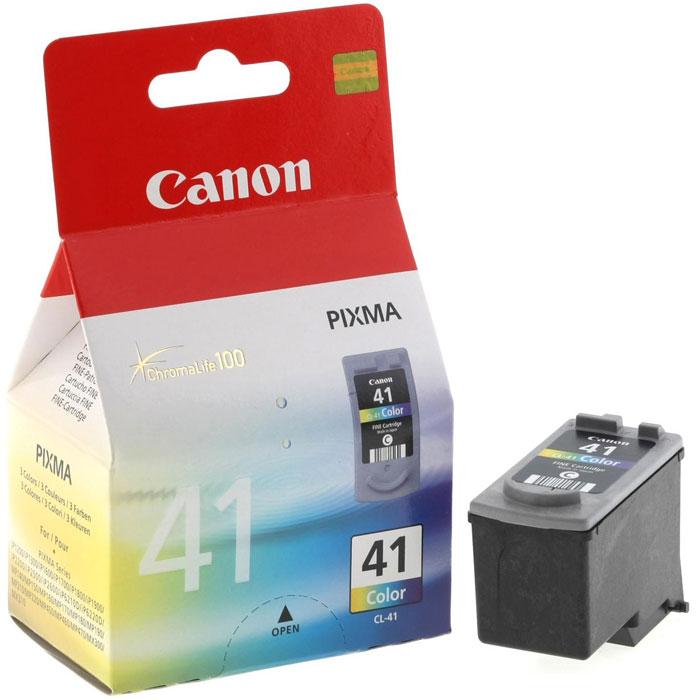 Canon CL-41 цветной картридж для струйных МФУ/принтеров0617B025Canon CL-41 - цветной картридж, созданный по технологии FINE.