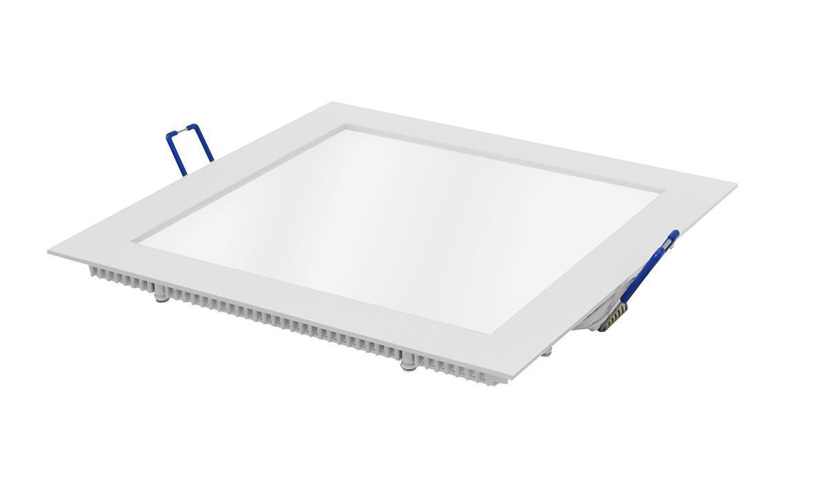 Встраиваемый светильник ESTARES светодиодный тонкий квадрат 10W 2800K 700lm теплый белый 200*200mm - цвет белый20101,DL-10Светильник встраиваемый светодиодный тонкий квадрат 10W 2800K 700lm теплый белый 200*200mm - цвет белый
