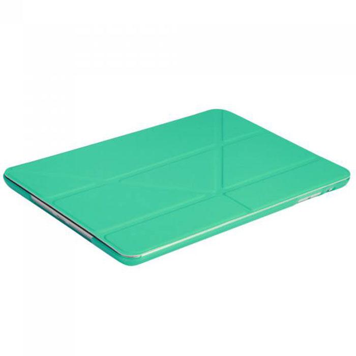 IT Baggage Hard Case чехол для iPad Mini Retina/ iPad mini 3, TurquoiseITIPMINI01-6Чехол IT Baggage Hard Case для iPad Mini Retina – это стильный и лаконичный аксессуар, позволяющий сохранить планшет в идеальном состоянии. Надежно удерживая технику, обложка защищает корпус и дисплей от появления царапин, налипания пыли. Также чехол IT Baggage для iPad Mini Retina можно использовать как подставку для чтения или просмотра фильмов. Имеет прозрачную заднюю крышку и свободный доступ ко всем разъемам устройства.