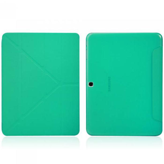 IT Baggage Hard Case чехол для Samsung Galaxy Tab 4 10.1, TurquoiseITSSGT4101-6Чехол IT Baggage Hard Case для Samsung Galaxy Tab 4 10.1 - это стильный и лаконичный аксессуар, позволяющий сохранить планшет в идеальном состоянии. Надежно удерживая технику, обложка защищает корпус и дисплей от появления царапин, налипания пыли. Также чехол IT Baggage для Samsung Galaxy Tab 4 10.1 можно использовать как подставку для чтения или просмотра фильмов. Имеет свободный доступ ко всем разъемам устройства.