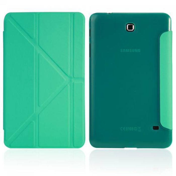 IT Baggage Hard Case чехол для Samsung Galaxy Tab 4 7, TurquoiseITSSGT4701-6Чехол IT Baggage Hard Case для Samsung Galaxy Tab 4 7 - это стильный и лаконичный аксессуар, позволяющий сохранить планшет в идеальном состоянии. Надежно удерживая технику, обложка защищает корпус и дисплей от появления царапин, налипания пыли. Также чехол IT Baggage для Samsung Galaxy Tab 4.7 можно использовать как подставку для чтения или просмотра фильмов. Имеет прозрачную заднюю крышку и свободный доступ ко всем разъемам устройства.