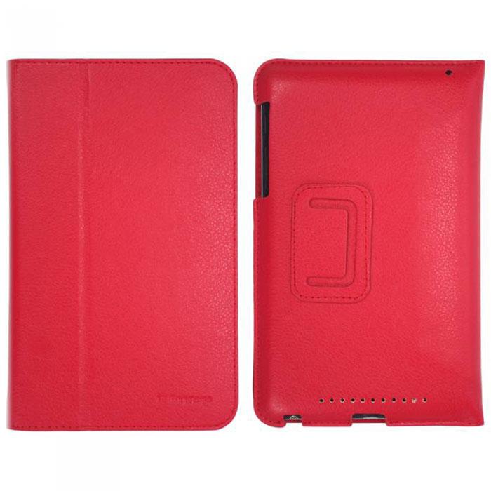 IT Baggage Slim чехол для Asus Nexus 7, RedITASNX705-3Чехол IT Baggage Slim для Asus Nexus 7 - это стильный и лаконичный аксессуар, позволяющий сохранить планшет в идеальном состоянии. Надежно удерживая технику, обложка защищает корпус и дисплей от появления царапин, налипания пыли. Также чехол IT Baggage Slim для Asus Nexus 7 можно использовать как подставку для чтения или просмотра фильмов. Имеет свободный доступ ко всем разъемам устройства.