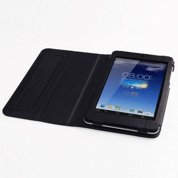IT Baggage чехол с функцией стенд для Asus Fonepad 7 ME175CG/ME172V, BlackITASME1752-1Чехол IT Baggage для Asus Fonepad 7 ME175CG/ME172V - это стильный и лаконичный аксессуар, позволяющий сохранить планшет в идеальном состоянии. Надежно удерживая технику, обложка защищает корпус и дисплей от появления царапин, налипания пыли. Также чехол IT Baggage для Asus Fonepad 7 ME175CG/ME172V можно использовать как подставку для чтения или просмотра фильмов. Имеет свободный доступ ко всем разъемам устройства.