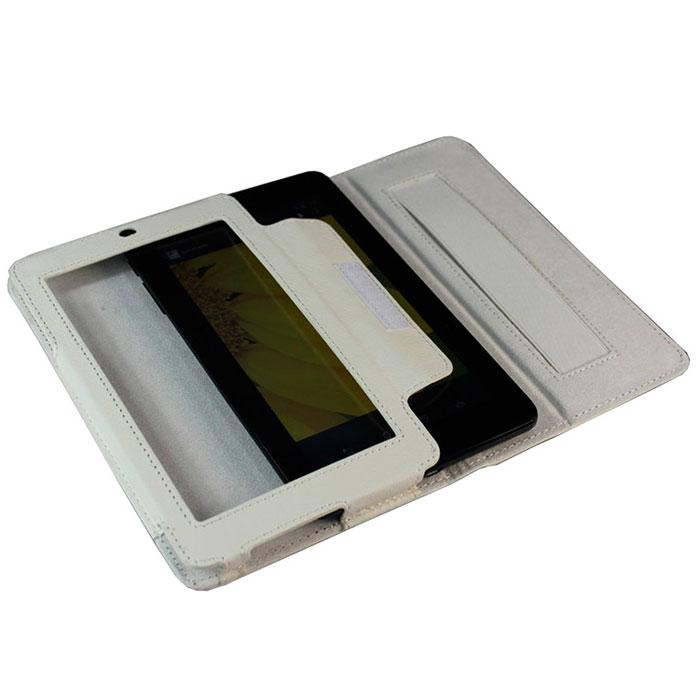 IT Baggage чехол с функцией стенд для Asus Fonepad 7 ME175CG/ME172V, WhiteITASME1752-0Чехол IT Baggage для Asus Fonepad 7 ME175CG/ME172V - это стильный и лаконичный аксессуар, позволяющий сохранить планшет в идеальном состоянии. Надежно удерживая технику, обложка защищает корпус и дисплей от появления царапин, налипания пыли. Также чехол IT Baggage для Asus Fonepad 7 ME175CG/ME172V можно использовать как подставку для чтения или просмотра фильмов. Имеет свободный доступ ко всем разъемам устройства.