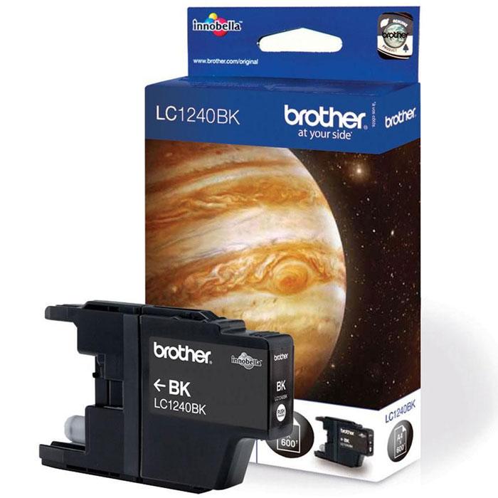 Brother LC1240BK, Black струйный картридж для MFC-J6510DW, MFC-J69010DWLC1240BKПри использовании оригинальных картриджей Brother LC-1240 вы всегда будете получать впечатляющие