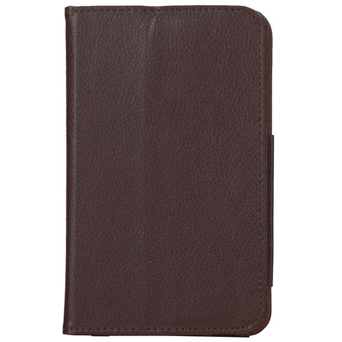 IT Baggage чехол для Samsung Galaxy Tab 3 7.0, BrownITSSGT7302-2IT Baggage для Samsung Galaxy Tab 3 7.0 - фирменный стильный чехол IT Baggage с возможностью фиксации в горизонтальном положении. Он сохранит ваш планшет от царапин, пыли и грязи. Даже при частом использовании в нём вашего планшетного компьютера, его хватит на несколько лет.
