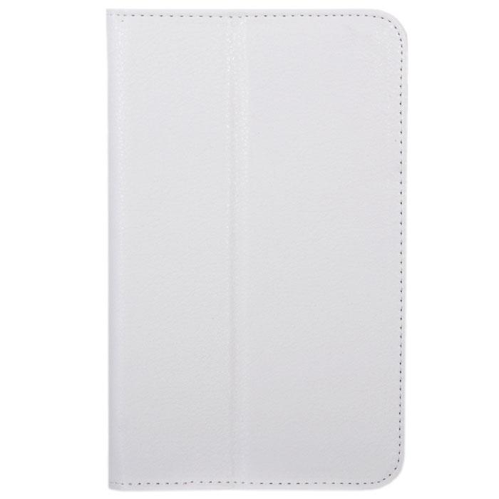 IT Baggage чехол для Samsung Galaxy Tab 3 7.0, WhiteITSSGT7302-0IT Baggage для Samsung Galaxy Tab 3 7.0 - фирменный стильный чехол IT Baggage с возможностью фиксации в горизонтальном положении. Он сохранит ваш планшет от царапин, пыли и грязи. Даже при частом использовании в нём вашего планшетного компьютера, его хватит на несколько лет.