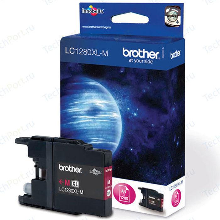 Brother LC1280XLM, Magenta струйный картридж для MFC-J6510DW, MFC-J69010DWLC1280XLMПри использовании оригинальных картриджей Brother LC-1280XL вы всегда будете получать впечатляющие