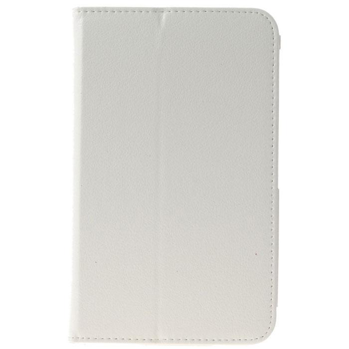 IT Baggage чехол для Samsung Galaxy Tab 3 8.0, WhiteITSSGT8302-0IT Baggage для Samsung Galaxy Tab 3 8.0 - фирменный стильный чехол IT Baggage с возможностью фиксации в горизонтальном положении. Он сохранит ваш планшет от царапин, пыли и грязи. Даже при частом использовании в нём вашего планшетного компьютера, его хватит на несколько лет.