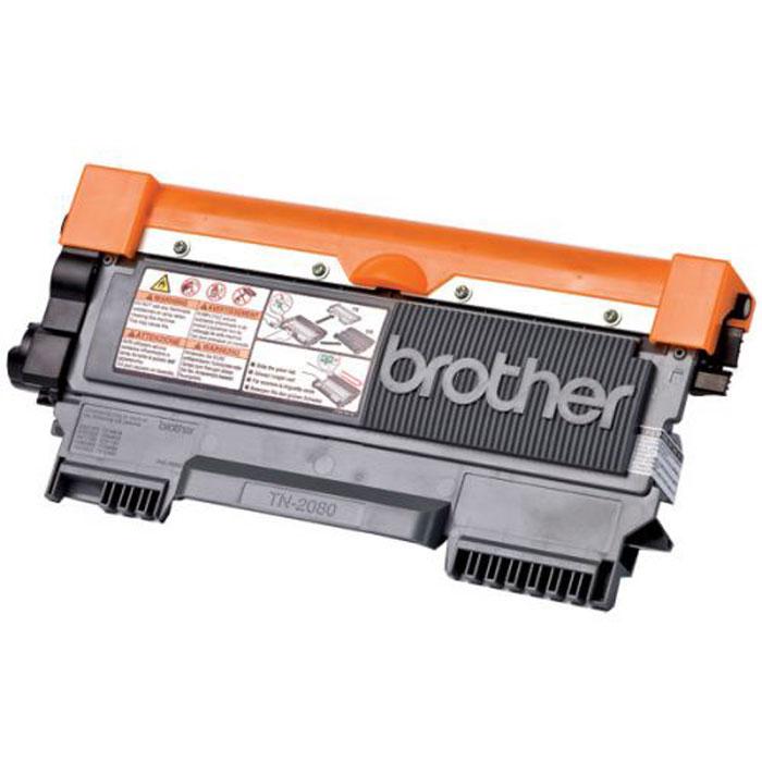 Brother TN2080 тонер картридж для HL2130/DCP7055TN2080Оригинальный картридж Brother TN2080 поддерживает высочайшее качество печати при высокой экономичности печатной техники Brother. Надёжная система подачи чернил позволяет выполнять печать самых сложных документов.