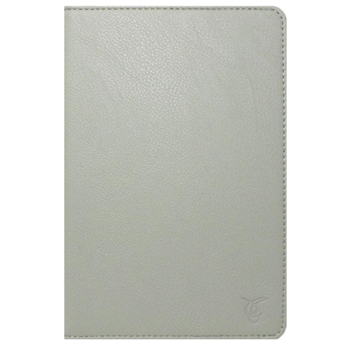 Vivacase Basic кожаный чехол-обложка для планшетов 7-8, Grey (VUC-CM007-gr)VUC-CM007-grТонкий чехол-обложка Viva Basic для планшетов 7-8 - прекрасный выбор для тех, что заботится не только о сохранности своего устройства, но и о стиле. Он изготовлен из качественной искусственной кожи, которая по своим характеристикам не уступает натуральной. Мягкая подкладка графитового цвета приятна на ощупь и предотвращает появление царапин на корпусе и дисплее. Резиновое крепление позволяет надежно зафиксировать электронное устройство внутри.