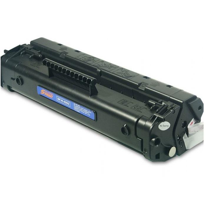 HP C4092A, Black картридж тонерC4092AКартридж с тонером HP 92A подходит для принтеров HP LaserJet 1100 и 3200. Высококачественные распечатки,