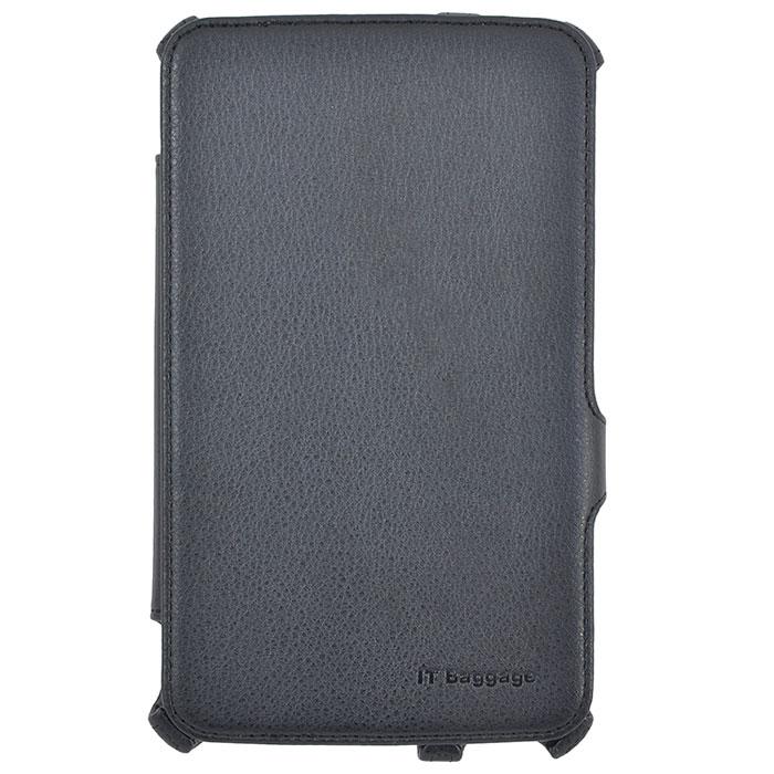 IT Baggage чехол-мультистенд для Samsung Galaxy Tab 3 7.0, BlackITSSGT7305-1IT Baggage для Samsung Galaxy Tab 3 7.0 - чехол-мультистенд, который сохранит ваш планшет от царапин, пыли и грязи. Основа чехла имеет специальную рамку, надежно удерживающую планшет внутри. Крышка его выполнена из бархатистого материала, который обеспечивает деликатную защиту дисплея. Имеется возможность использования в виде настольной подставки.